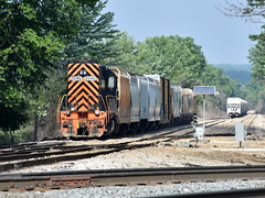 Long Hood First (Robby Gragg) Tags: wle we sd403 3046 spencer