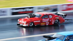 Old 51_9669 (Fast an' Bulbous) Tags: dragster car vehicle automobile motorsport fast speed power acceleration panning nikon outdoor gimp santa pod