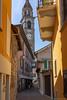 St Peter and Paul church tower Ascona (Rourkeor) Tags: ascona ticino switzerland ch eu street colourful church tower sony sonyrx1r rx1r fullframe sonnar t 35mm