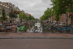 Bicycles in Amsterdam (Jana`s pics) Tags: bicycles fahrräder amsterdam gracht kanal häuser stadt city brücke bridge sightseeing netherlands niederlande
