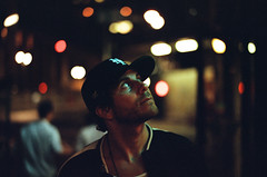 gregory (film) (Art by 2wenty) Tags: 2wenty gregorysiff leica m6 classic film analog analogue mood moody grain grainy night midnight newyorkcity bokeh lowlight availablelight summilux 50mm asph