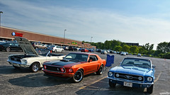 The Early Years (Chad Horwedel) Tags: 1967fordmustang 1968fordmustang 1969fordmustang fordmustang ford mustang classic car convertible braconis naperville illinois