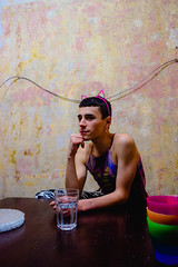 Fran Bueno y rosa (simonestesia) Tags: poeple boy gay lovely love art artistic photo argentina bsas pink wall scene lgbtttiq newlove new friend
