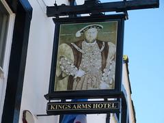 Pub Sign - Kings Arms, Kirkby Lonsdale 180405 (maljoe) Tags: pubsign pubsigns publichouse pub pubs inn inns tavern taverns