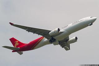 Shenzhen Airlines Airbus A330-343 cn 1867 F-WWYU // B-1072