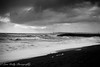 West Bay Storm (BW) (broadswordcallingdannyboy) Tags: westbay beach sea waves atmosphere mood dorset leonreillyphotography copyright eos7d 1740mm westcountry dramatic sky mono bw bwlandscape coast south storm copyrightleonreillyphotography