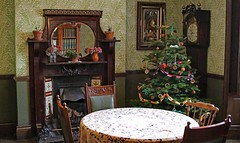 Beamish (grab a shot) Tags: beamish england uk beamishmuseum countydurham 1925 victorian edwardian livinghistory oldfashioned vintage openairmuseum town christmas 2017 canoneos7d indoor table christmastree
