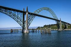 Yaquina Bay Bridge (TCeMedia/Telecide) Tags: art deco moderne gothic architecture bridge yaquina oregon bay sea ocean newport arch