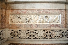 Palazzo Reale - Marble art (zawtowers) Tags: naples napoli campania italy italia may 2018 summer holiday vacation break warm dry sunny palazzo reale royal palace baroque architecture built 17th century used bourbon kings residence grand staircase marble art rectangle wide beautiful ornate