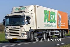 Scania P360  NL  POIESZ  180418-0021-C6 ©JVL.Holland (JVL.Holland John & Vera) Tags: scaniap360 nl poiesz friesland transport truck lkw lorry vrachtwagen vervoer netherlands nederland holland europe canon jvlholland
