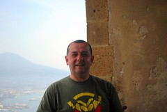 Me at Castel Sant'Elmo (zawtowers) Tags: naples napoli campania italy italia may 2018 summer holiday vacation break warm dry sunny tuesday 29th castel santelmo castle bult 1537 historic hilltop overlooking city vomero hill me self portrait relaxed happy content