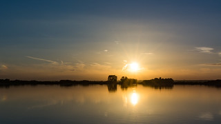 Farmoor Reservoir Sunsets