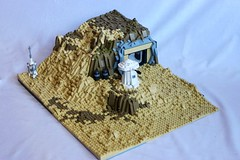 ~Tatooine Jundland Wastes in LEGO a map from Battlefront 2015~ (First Order Lego) Tags: lego starwats starwars legomlc legomoc moc battlefront battlefront2 tatooime tatooine