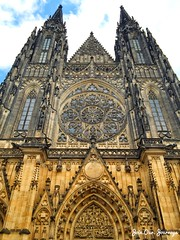 St. Vitus Cathedral (Join.Our.Journeys) Tags: stvituscathedral prague praguecastle beautifuldestinations picturesque breakfromcitylife dreamer traveller writer wanderlust joinourjourneys travel travelforfun exploretheworld exploreprague czechrepublic workhardpartyharder partyhardtravelharder holiday vacation tourism travelphotography travelstories travelblogger iphone iphonephotography