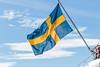 Stockholm, Sweden (PhredKH) Tags: canonphotography fredkh photosbyphredkh phredkh splendid stockholm sweden city flag swedishflag bluesky clouds sky