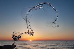 No to chlup :-) (fotodcpl) Tags: sunset sun zachódsłońca zachodslonca bałtyk beach plaża landscape landscapephotography sea morze dusk sky photography photo natureshooters naturephotography naturelovers nature woda water