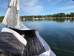 Minnamari maalissa (Antti Tassberg) Tags: suursaarirace espoo haukilahti sailing minnamari
