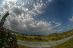 GibTor (Tony Tooth) Tags: nikon d7100 samyang 8mm fisheye hdr sky cloud road moors moorland gibtor flash staffs staffordshire staffordshiremoorlands england