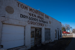 dry goods (Tomás Harrison Fotos) Tags: ghosttown d750 color torrancecounty abandoned encino nikon ushwy285 availablelight afnikkor24mmf28d ngc nm dying austin tx usa