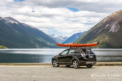 Lake Rotoiti, Nelson Lakes (flyingkiwigirl) Tags: lakerotoiti nelsonlakes dinghy kayak fishing trout mountains