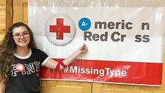 NEPA #MissingType Kickoff (American Red Cross Blood Services) Tags: missingtype missingtypes redcross blood blooddrive clintoncounty millhall northcentralpa nepa