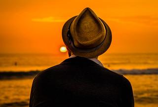 Sunset sombrero