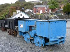 Llechwedd, BEV Mine Loco P1400751mods (Andrew Wright2009) Tags: north wales uk holiday vacation scenic britain blaenau ffestiniog llechwedd slate mine railway bev loco