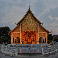 Wat Chedi Luang (Thomas Mülchi) Tags: chiangmai chiangmaiprovince thailand 2018 11 buddhism buddhisttemple temple changwatchiangmai th dusk animal dog