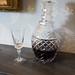 Antique wine decanter