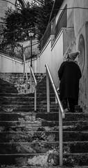 Stairway to the Skies (WT_fan06) Tags: black white bw bnw blackandwhite monochrome stairway passage way city urban dull monotony grey tones bucharest romania nikon d3400 dslr photography artistic artsy aesthetic outside outdoors flickr 7dwf coth5 cold old macromondays stone metal light street graffiti mann bukarest rumanien schwarz weiss treppe frau contrast wondering daydreaming readyfortheday