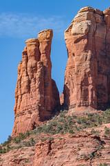 Eastern Spire of Castle Rock, Sedona, AZ (Gordon Magee) Tags: sedona cathedralrock