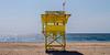 Playa Zicatela Baywatch (lucico) Tags: 2013 méxico oaxaca playa beach baywatch yellow pacifico pacific puertoescondido mar ocean sand horizon