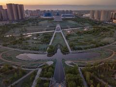 New World Order (Andrew G Robertson) Tags: astana kazakhstan drone aerial palace peace reconcilation illuminati phoenix dji mavic shabyt creativity independence monument kazakh eli sunrise presidential park астана