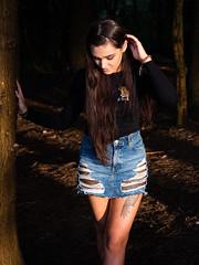 Jodi (DAWPhotog) Tags: portrait portraitphotography woodland forest trees shadows light contrast nature naturallight girl girls beautiful sunny sunlight sunset evening summer spring travel adventure lick lickeyhills