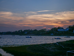 20180525-Sunset at Oyster Pond (ChathamGardens) Tags: oysterpond capecod sunset chathamma