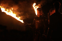 Pg1416, swords of fire! (marcosmallred) Tags: perugia1416 perugia umbria umbrien italia italy italie italien medioevo palio sword spada fuoco fire middleage