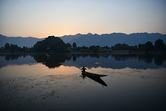 Morning at Nageen Lake, Srinagar, Kashmir (Mayur Kakade) Tags: kashmir india incredibleindia nageen lake dal srinagar boating water rural traditional fishing morning dawn