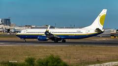 N739MA Miami Air International Boeing 737-800 (José M. F. Almeida) Tags: lisboa lisbon lppt lis aircrafts airplane n739ma miami air international boeing 737800
