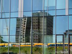 Zuidas, 27-5-2018 (kees.stoof) Tags: amsterdam zuidas architectuur architecture hww windows ramen reflectie reflection spiegeling