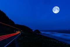 BCRCO662018-42 (Ranbo (Randy Baumhover)) Tags: oregon oregoncoast pacificocean hwy101 sunrise moon