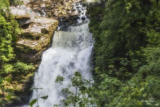 La cascade du Saut du Doubs...