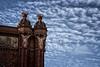 Arco de Triunfo de Barcelona (gallowaydavid) Tags: arcodetriunfo barcelona spain angels clouds arc arcdetriomf monument