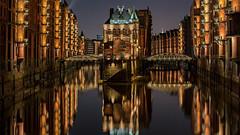 Speicherstadt (tonyguest) Tags: speicherstadt hafen city hamburg warehouse district architecture bricks water germany industrial tonyguest stockholm reflections