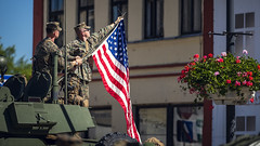 Latvijā uz mācībām ierodas ASV jūras kājnieki, viesojas Bauskā (Latvijas armija) Tags: armija karavīrs comcamlatvia combatcamera saberstrike saberstrike2018 usmc lav latvija bauska latvia marines