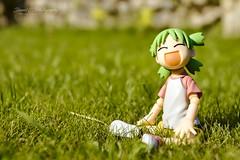 Danbo & Yotsuba! (Daniel E. Photography ✈) Tags: danbo danboard yotsuba yotsubato figurine manga