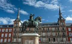 Plaza Mayor  Madrid (keithhull) Tags: plazamayor square madrid spain historic statue
