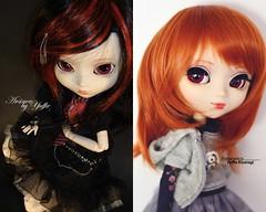 2008 vs 2018: Arsinoe (·Yuffie Kisaragi·) Tags: doll pullip stica arsinoe obitsu rewigged
