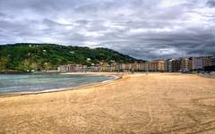San Sebastián - Vacanze 2017 (auredeso) Tags: sansebastián spagna espana paesi baschi paesibaschi spiaggia playa hdr tonemapping nikon d7100 sigma nikond7100 sigma1770
