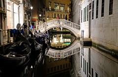 Venice  威尼斯 (MelindaChan ^..^) Tags: italy 意大利 venice 威尼斯 gondola boat water canal canalgrande transport trrafic chanmelmel mel melinda melindachan heritage history life ride tourist sunset dusk evening