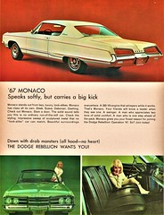 1967 Dodge Monaco 2-Door Hardtop (aldenjewell) Tags: 1967 dodge monaco 2door hardtop news magazine